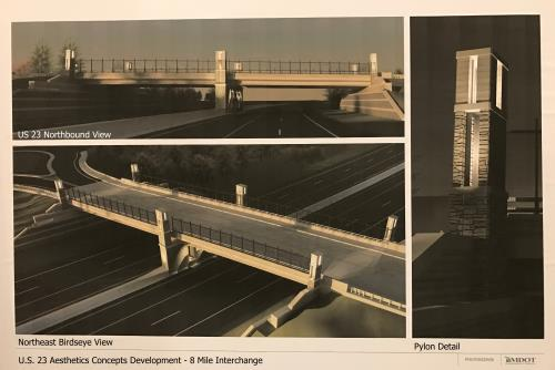 MDOT 11 9 2016 8 Mile Interchange pic1 proc 500w334h