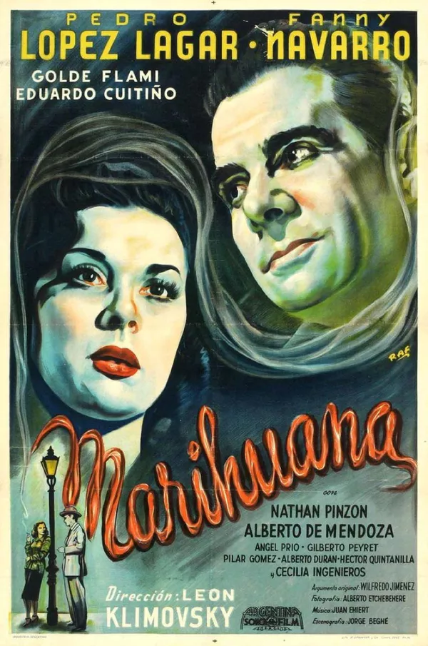 Marihuana directed by Leon Klimovsky