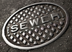 Sewer ManholeCover 240w175h